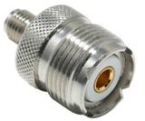 Коннектор-переходник SMA-F/UHF-F
